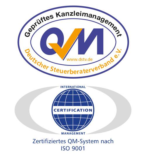 Steuerberaterverband Qualitätssiegel und ISO Zertifizierung